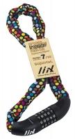 Liix Fahrrad-Zahlenschloss Big Lock 85cm Polka Dots Mix