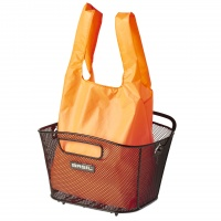 Basil Einkaufsbeutel für Metall-Fahrradkorb Keep Shopper Neon Orange