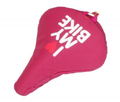 Liix Sattelbezug I Love My Bike Pink