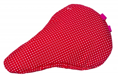 Liix Kids' Sattelbezug Polka Dots Red