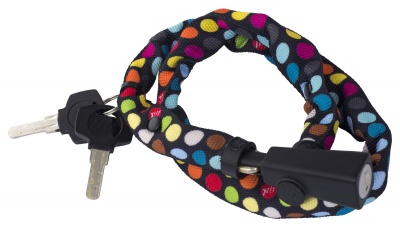 Liix Fahrrad-Zahlenschloss Small Lock 60cm Polka Dots Mix