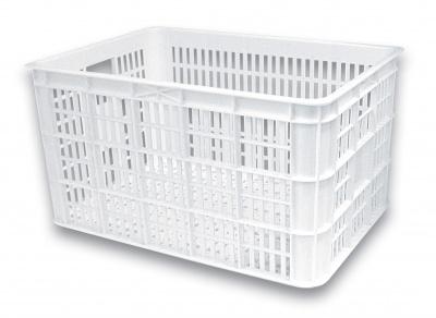 Basil Fahrradkasten Crate L weiß