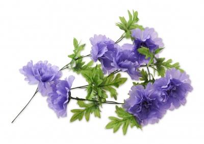 Basil Blumengirlande Peony für Fahrradkörbe lavendel