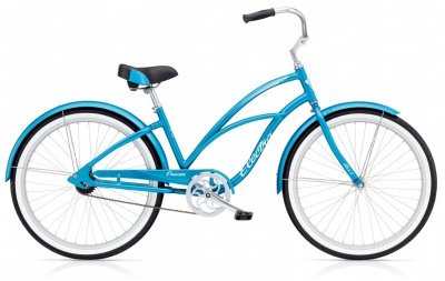 Electra Cruiser LUX 1 Ladies Blue Metallic
