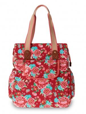 Basil Fahrrad-Einkaufstasche Bloom Shopper scarlet red