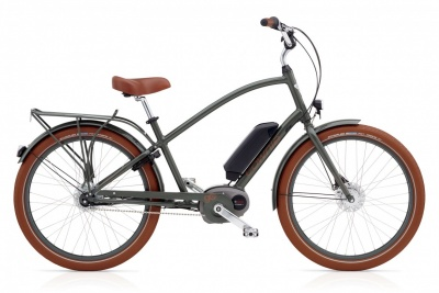 Electra Pedelec Townie Go! 8i Men Army Grey