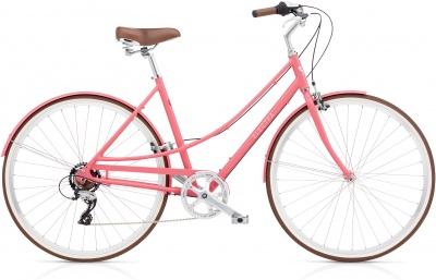 Electra Premium Retro Fahrrad Loft 7D Ladies Regular (52cm) Pink Macaroon