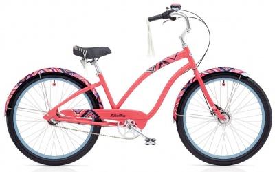 Electra Fashion Beachcruiser Morning Star 3i / 8i Ladies Pink Coral