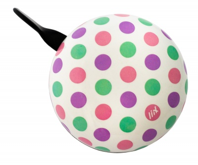 Liix Ding Dong Fahrradklingel Polka Big Dots Pastel Mix