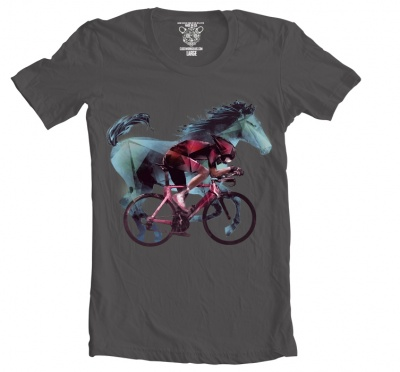 Clockwork Gears T-Shirt Men Horse Power