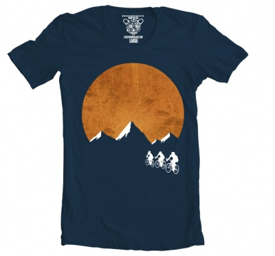 Clockwork Gears T-Shirt Men Sunset Ride