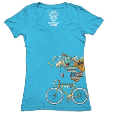 Clockwork Gears T-Shirt Women Perfect Balance