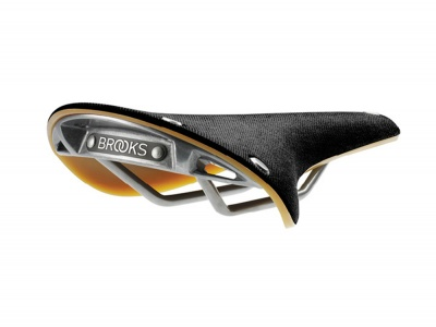 Brooks Sattel Cambium C17 Black/Natural Unisex