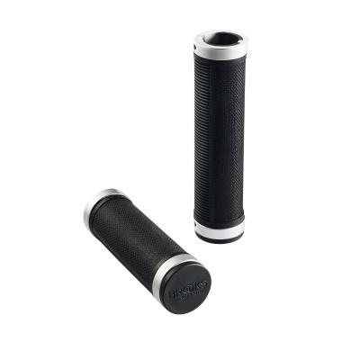 Brooks Lenkergriffe Cambium Rubber 1 Long 1 Short Black