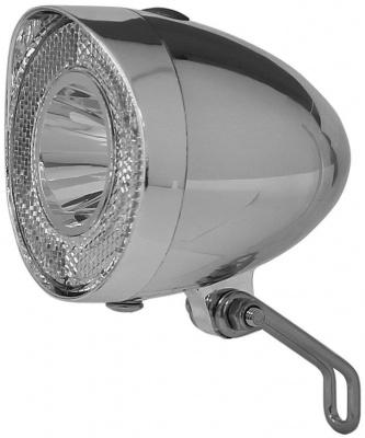 Klassik LED Frontlampe Chrom Batteriebetrieben UN-4915