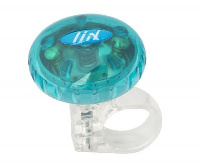 Liix Drehklingel Tokyo Bell mit transparentem Deckel blau