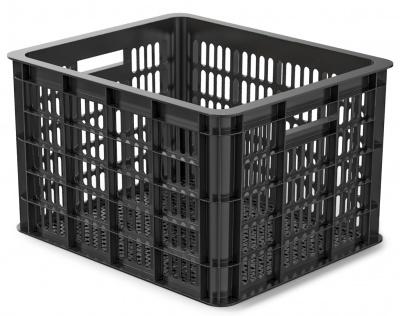 Basil Fahrradkasten Crate M schwarz