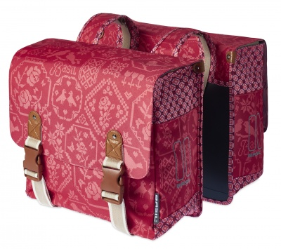 Basil Doppelpacktasche Boheme Vintage Red