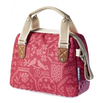 Basil Fahrrad-Handtasche Boheme City Bag Vintage Red
