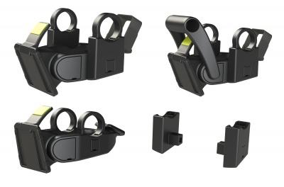 Basil Lenkeradapter BasEasy-System für Taschen und Körbe