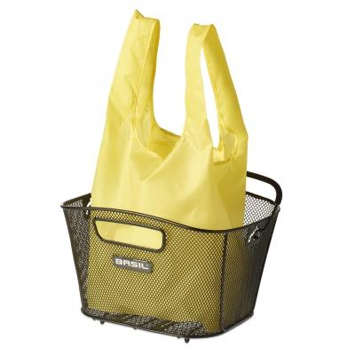 Basil Einkaufsbeutel für Metall-Fahrradkorb Keep Shopper Neon Gelb