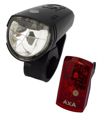 AXA Beleuchtungsset Greenline 15 für Akkubetrieb