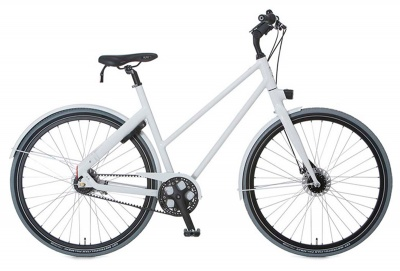 Cortina Urban Bike Blau Women 7-Gang Minor Grey
