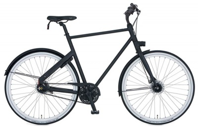 Cortina Urban Bike Blau Men 7-Gang Black Matt