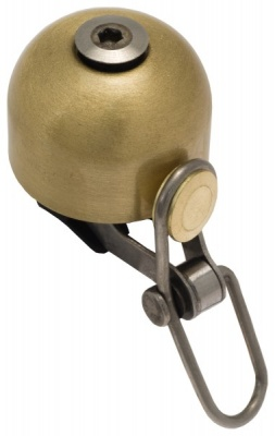 Liix Fahrradklingel Deci Bell Brass / Bronze Bronze