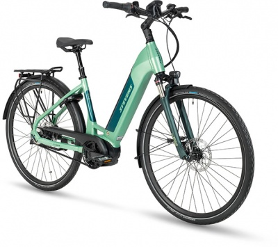 Stevens E-Courier Luxe Forma Mid Heather Green 2022