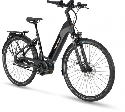 Stevens E-Courier Luxe Forma Stealth Black 2022