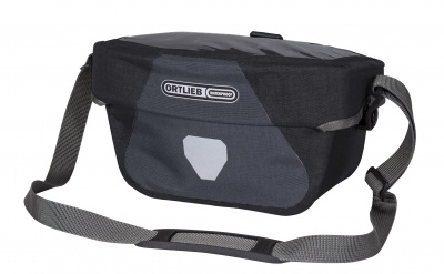 Ortlieb Fahrradlenkertasche Ultimate6 Plus Size S Granit-Schwarz