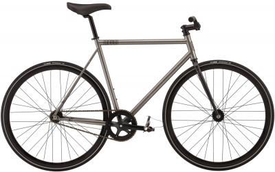 Felt Fixie Bike Brougham Mattgrau Metallic