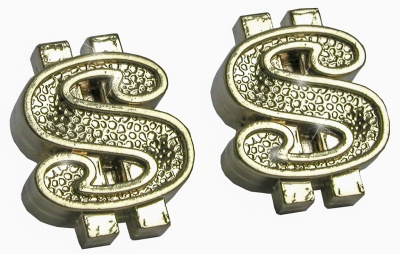 TrikTopz Ventilkappen Dollar Gold