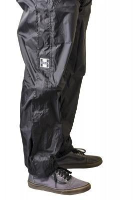 Regenhose Rain Pants Zipp schwarz