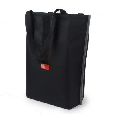 Fahrer Fahrrad-Gepäckträgertasche Konsum Schwarz