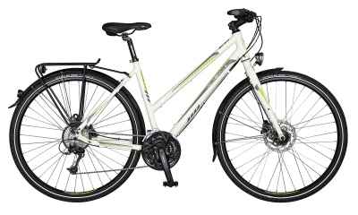 Velo de Ville Light Sport L60 Disc 28'' Damen 27-Gang Weiß Matt