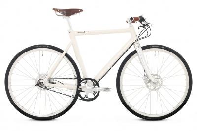 Schindelhauer Urban Bike Ludwig 14-Gang Sahneweiß