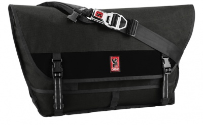 Chrome Kuriertasche Metropolis Grey/Black