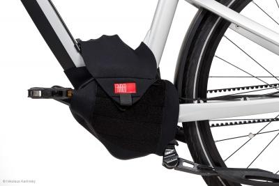 Fahrer E-Bike-Motor-Transportschutz Motor Cover für Mittelmotoren