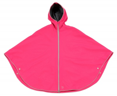 Otto London Urban Poncho Beet Fuchsia