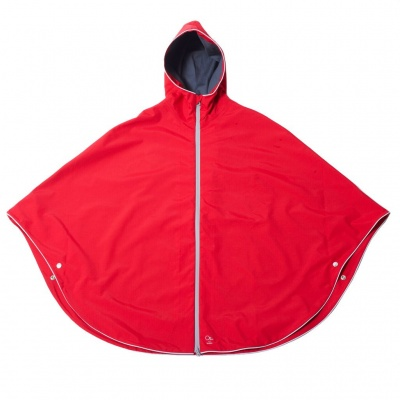Otto London Urban Kids Poncho Bright Red