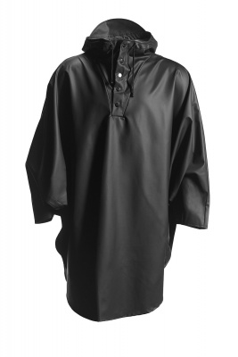 Rains Poncho Black