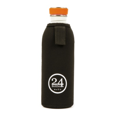 24Bottles Neoprenhülle Thermal Cover Schwarz