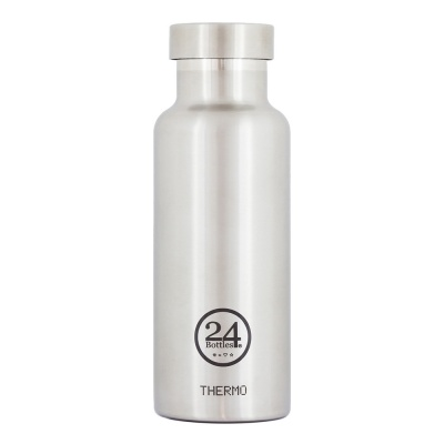 24Bottles Isolierflasche Thermo Bottle 0,5 Steel