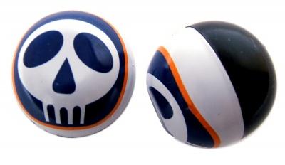 TrikTopz Ventilkappen Skull Logo