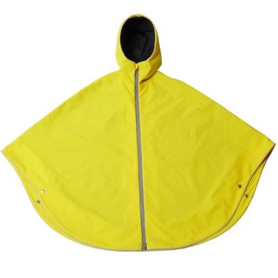 Otto London Urban Poncho Vibrant Yellow