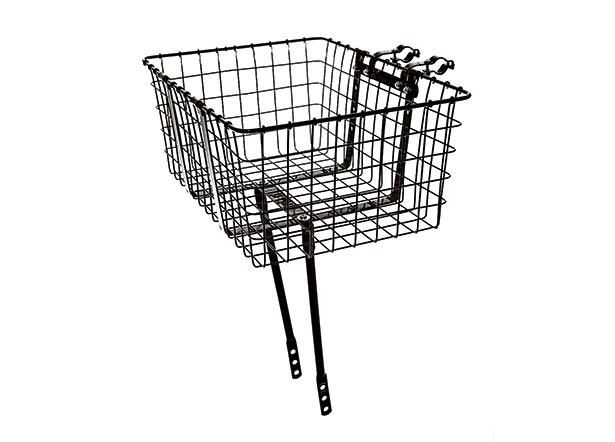 wald giant metallkorb f r die vorderachse schwarz 157gb beim fahrradfachh ndler online kaufen. Black Bedroom Furniture Sets. Home Design Ideas