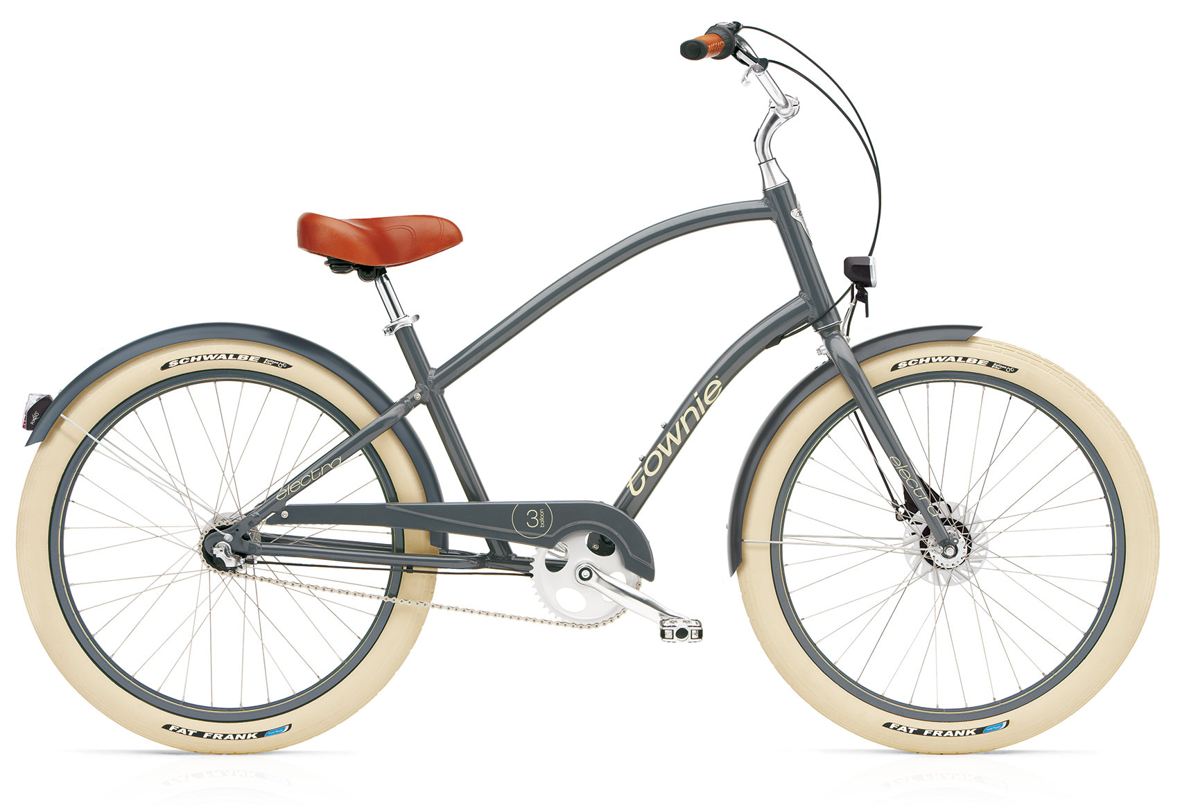 Electra Townie Balloon 3i EQ Men Slate mit LED Beleuchtung