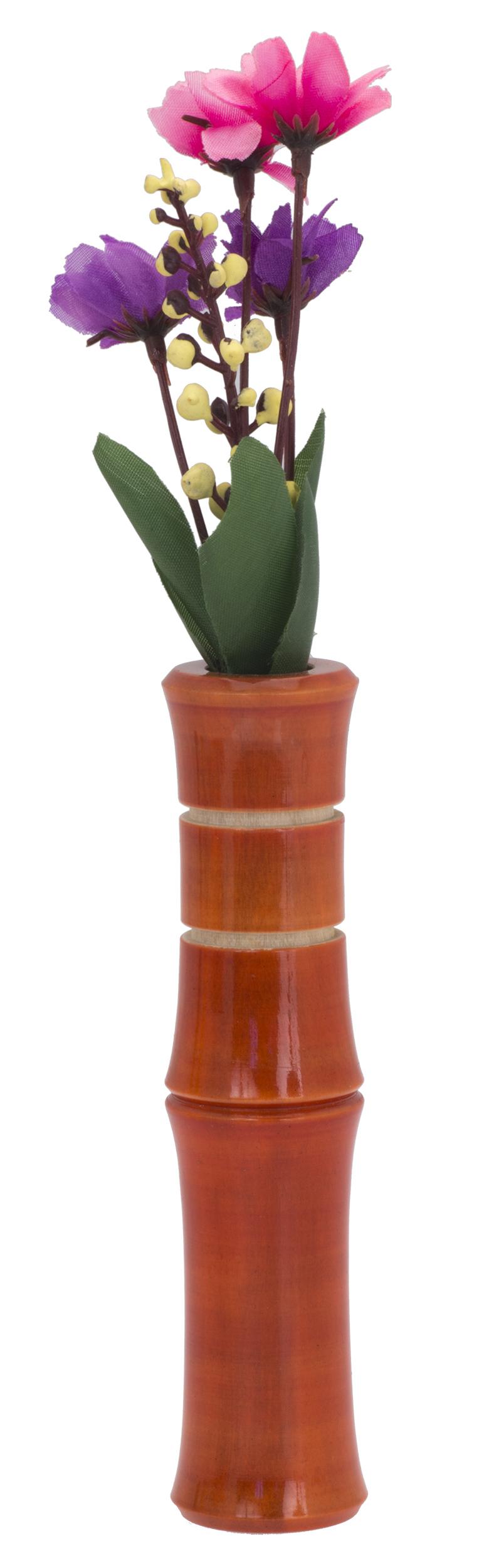 Liix Fahrradlenker Vase Bamboo Red